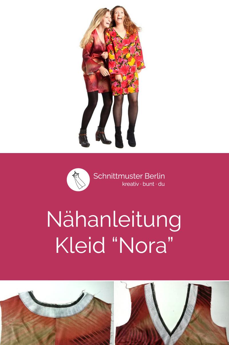 Nähanleitung für das Schnittmuster Kleid Nora