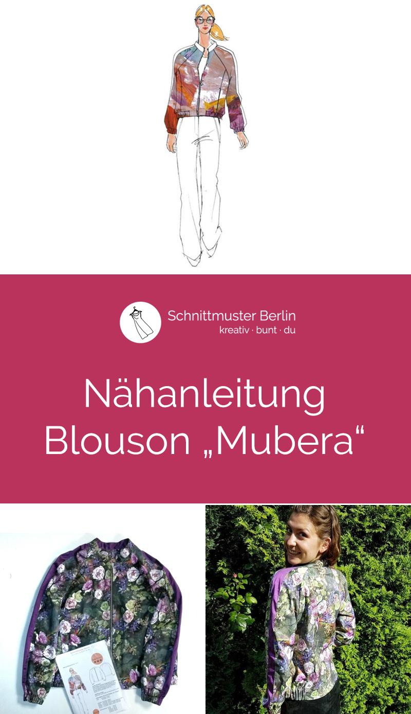 """Nähanleitung für das Schnittmuster Blouson """"Mubera"""""""