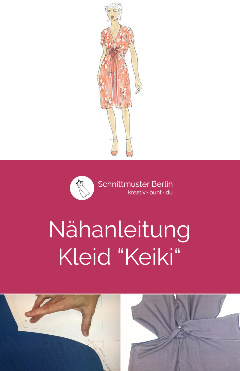 Nähanleitung für das Jerseykleid Keiki