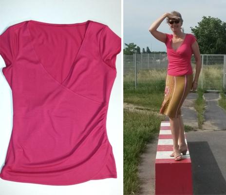 """Nähanleitung für das Shirt """"Kristin"""""""