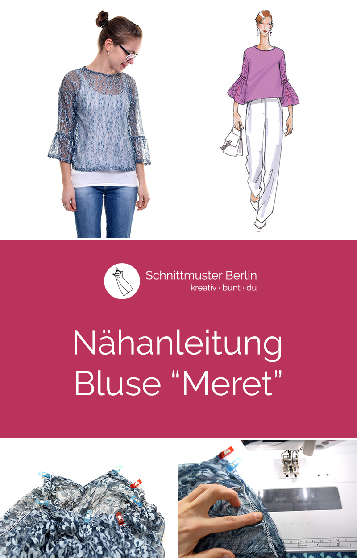"Nähanleitung Bluse ""Meret"""