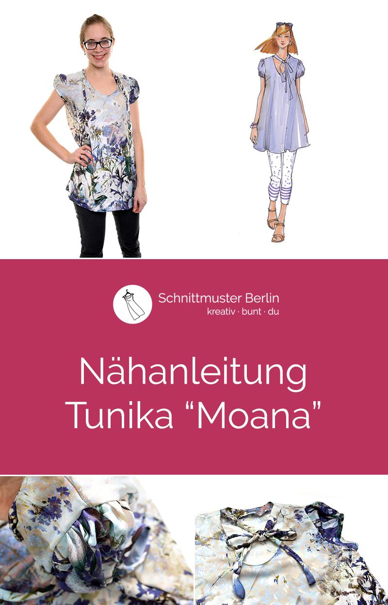 """Nähanleitung Tunika """"Moana"""""""