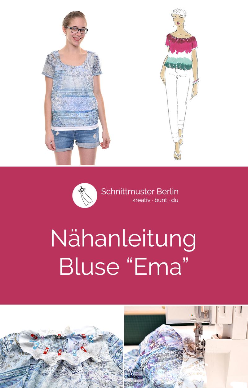 "Nähanleitung Bluse ""Emma"""