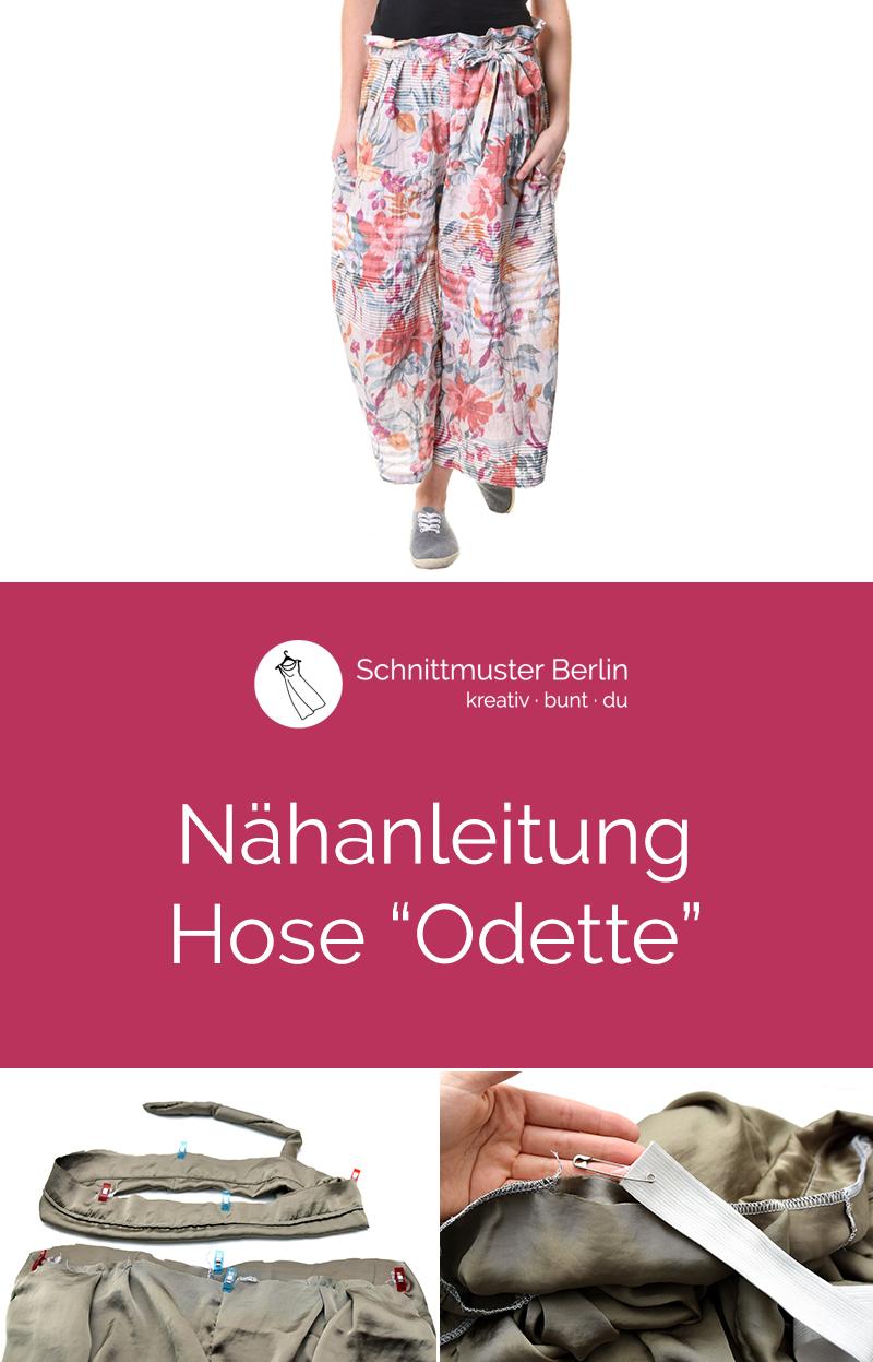 """Nähanleitung zur Hose """"Odette"""""""