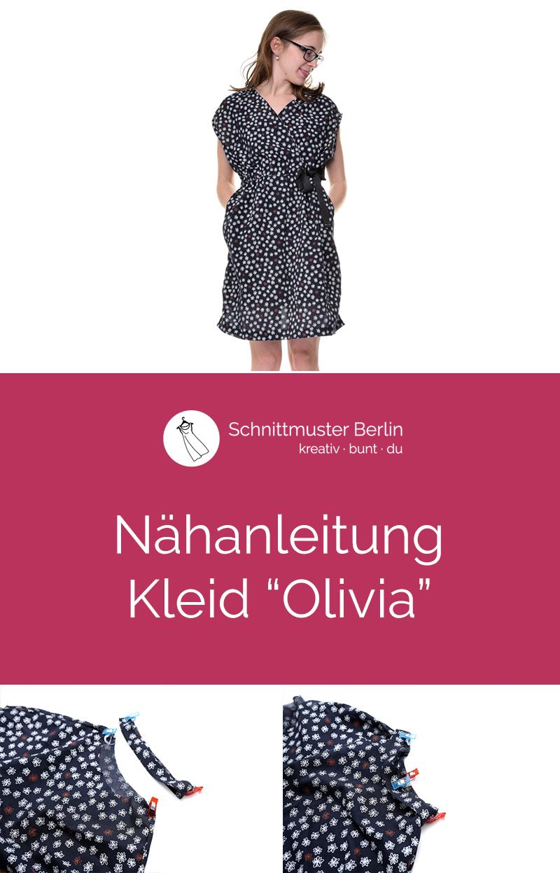 """Nähanleitung für das Kleid """"Olivia"""""""