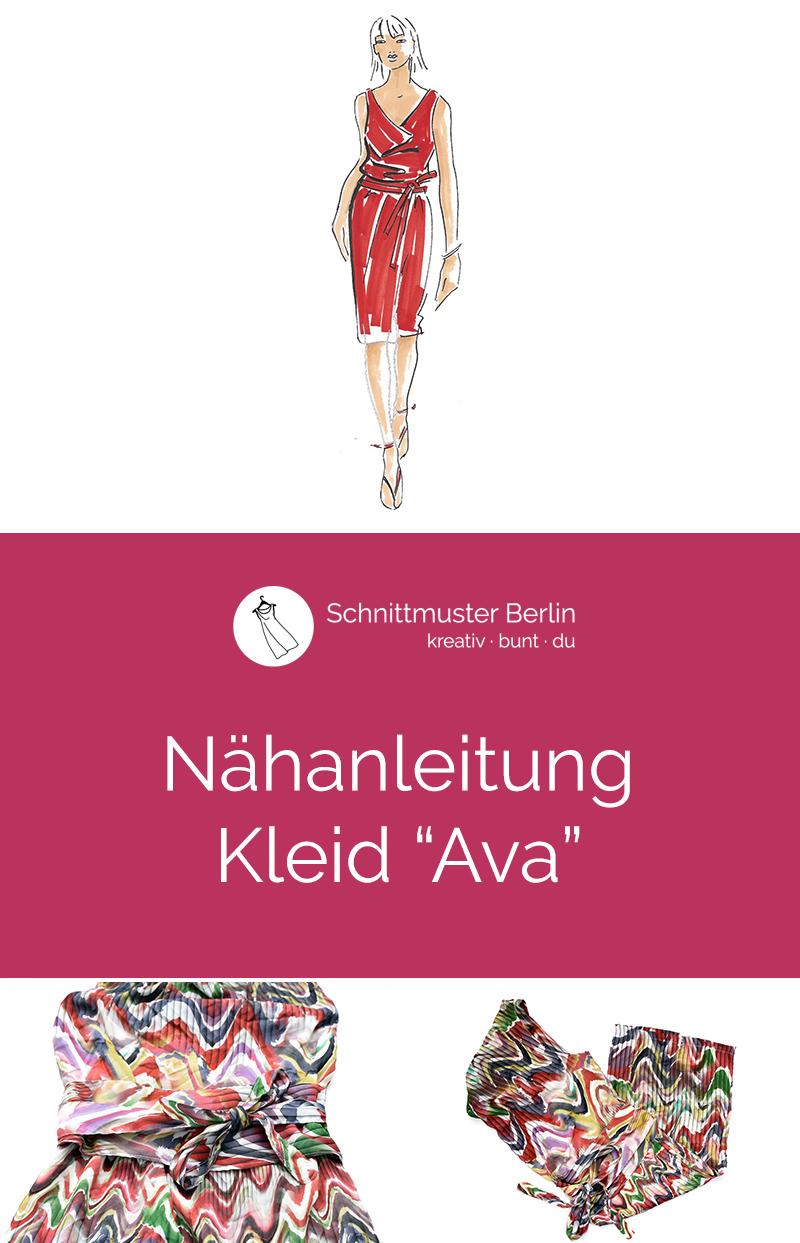 "Nähanleitung Kleid ""Ava"""
