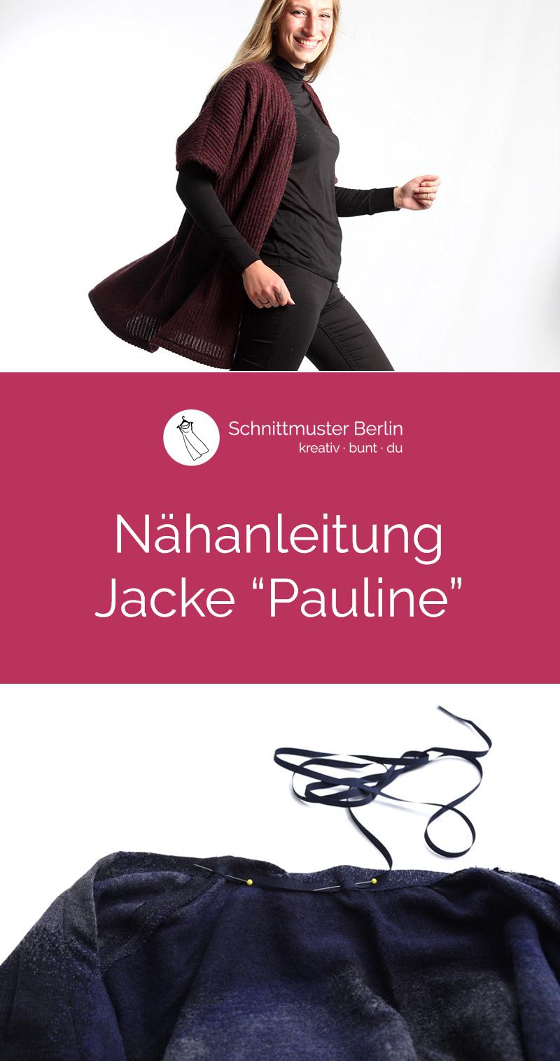 "Nähanleitung für die Jacke ""Pauline"""