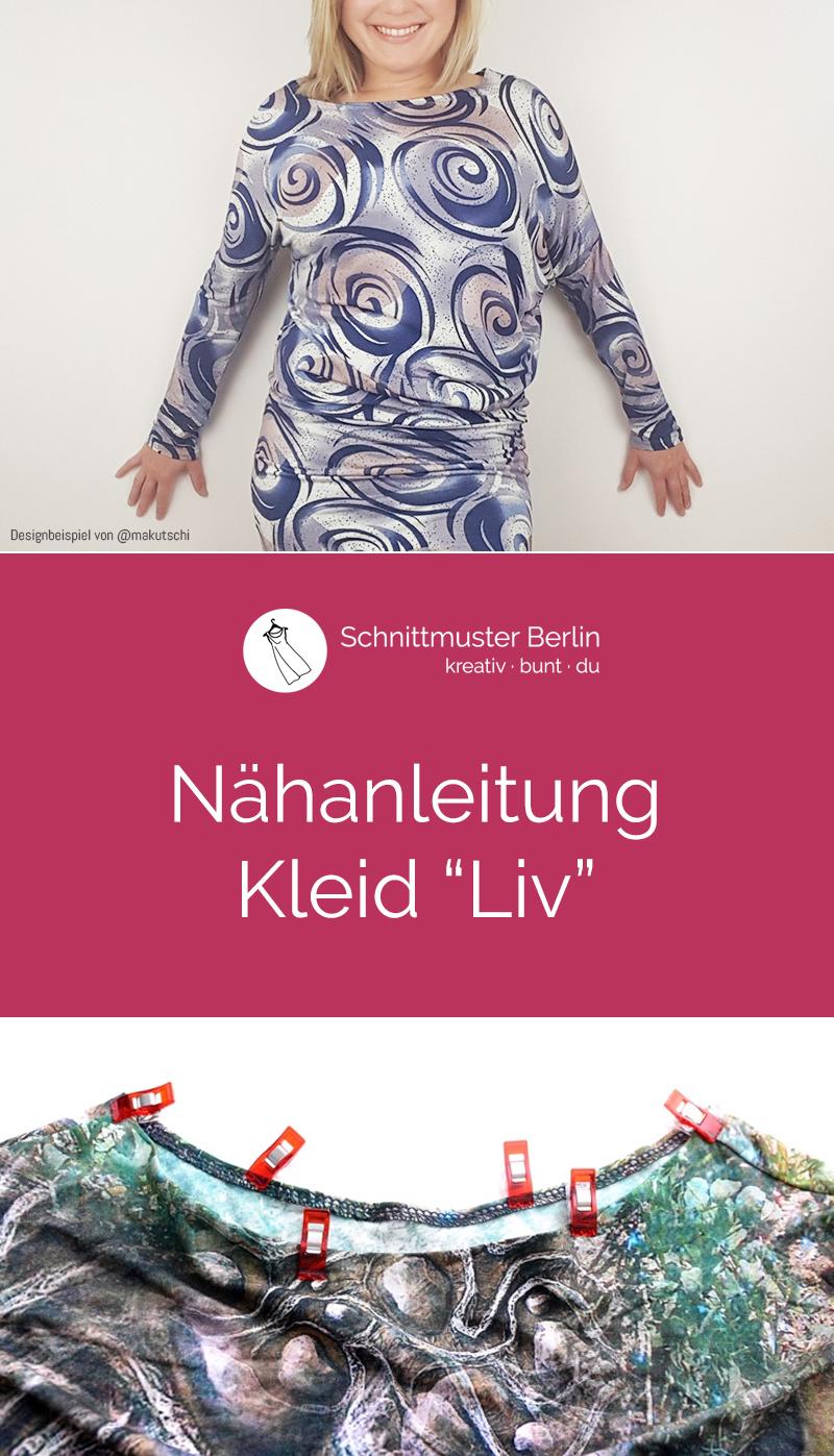 """Nähanleitung für das Kleid """"Liv"""""""
