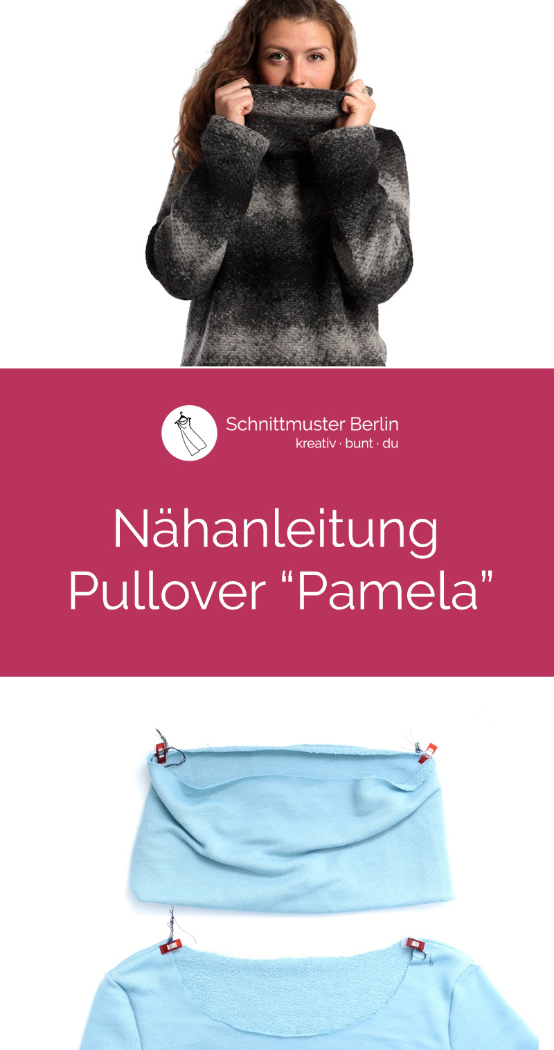 """Nähanleitung für den Pullover """"Pamela"""""""