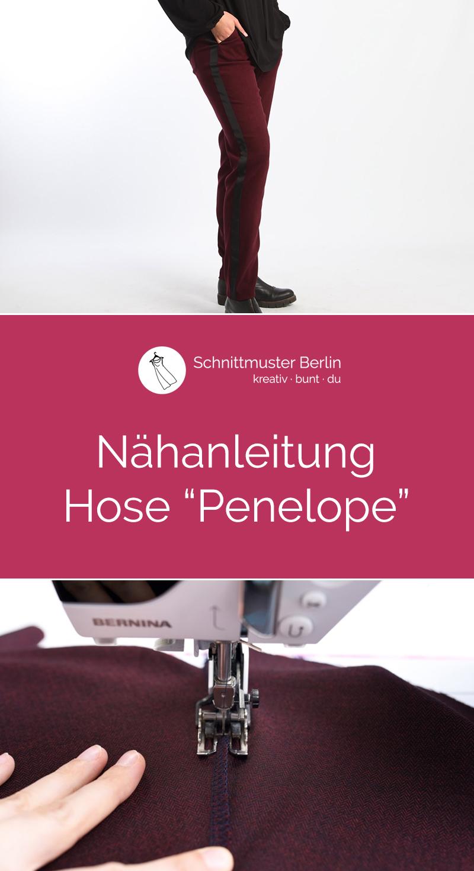 """Nähanleitung für die Hose """"Penelope"""""""